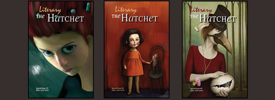 The Literary Hatchet, Issues 7, 8, and 9